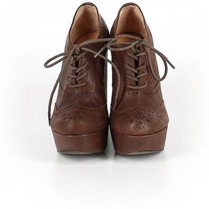 Aldo Oxford wedges brown size 36 or 6